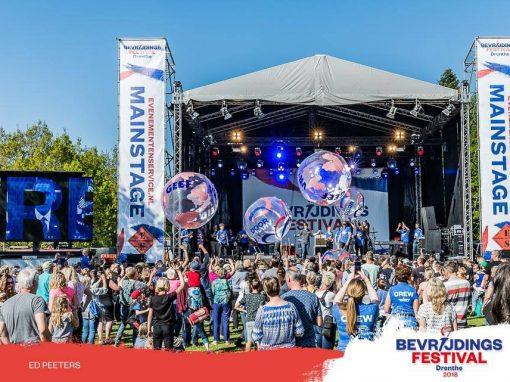 Bevrijdingsfestival 2018 Drenthe